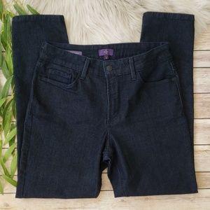 NYDJ Dark Wash Clarissa Ankle Jeans